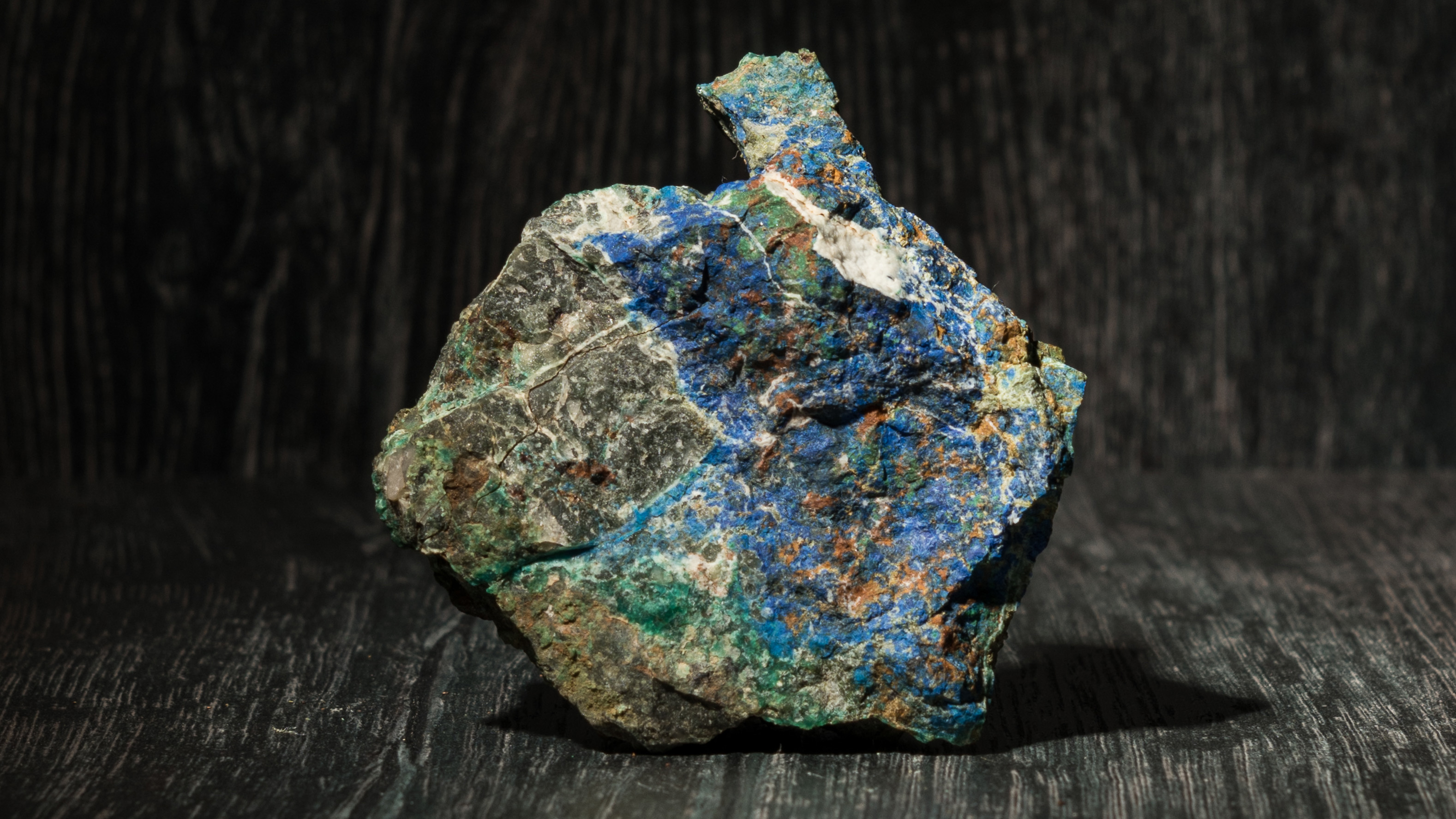 Archer rock sample containing copper from Yanlowinna.