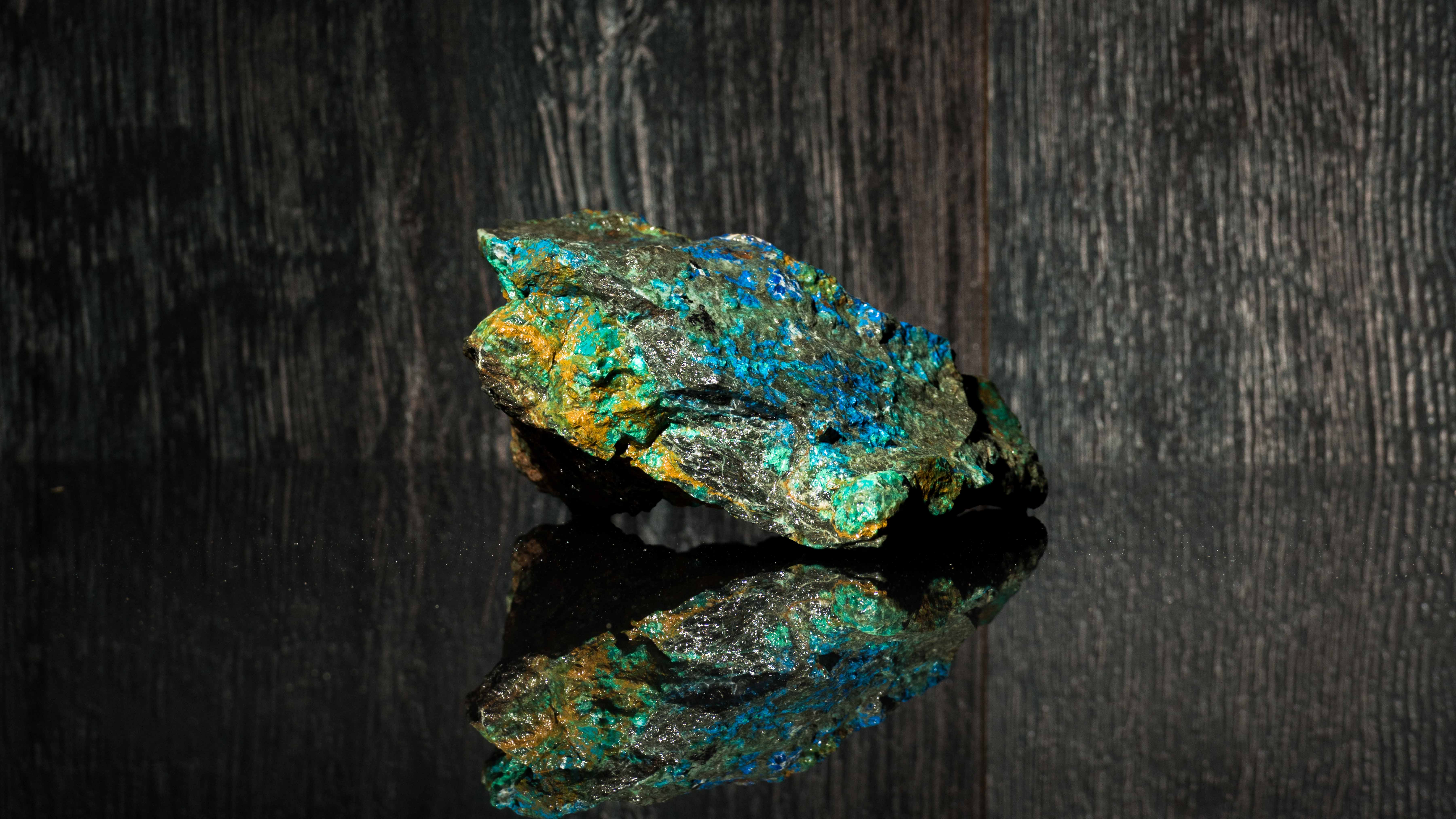 Archer rock sample containing copper from Purnamoota.