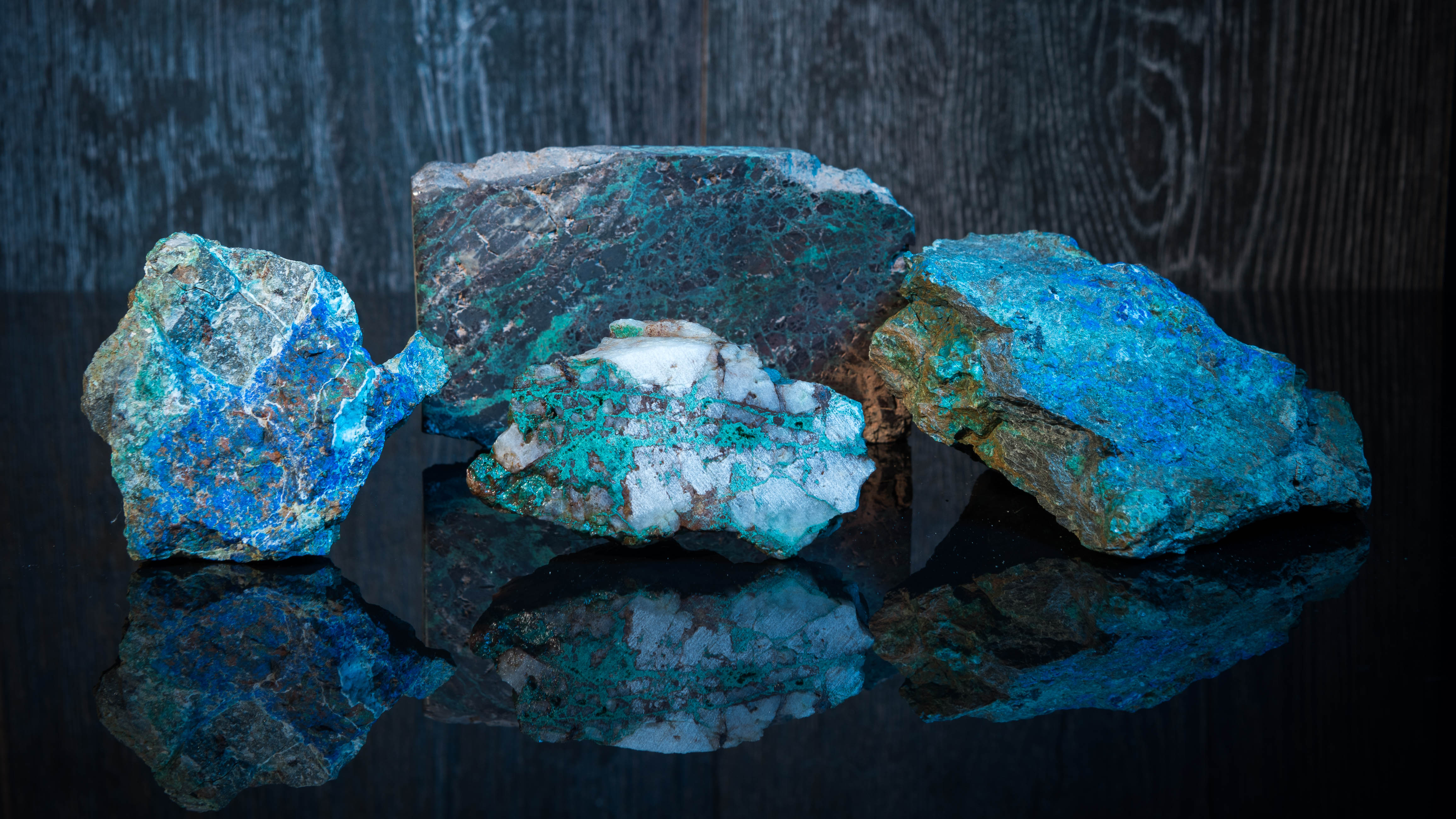 A mix of Archer copper samples from a variety of sources.